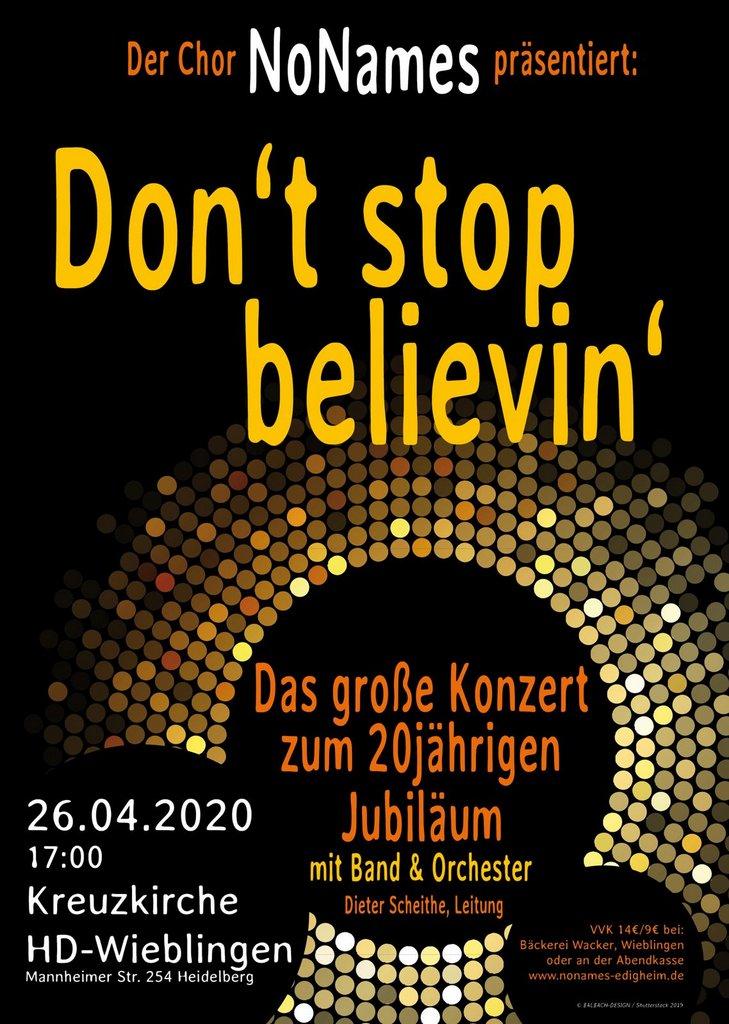 Dont stop belivin 3